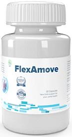 Komposisi FlexAmove — Ekstrak Bioperine, Ekstrak Jahe Basil & Rosemary dan beberapa komponen lagi