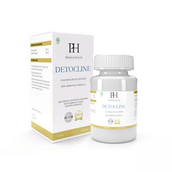 Detocline — Obat Untuk Membersihkan Tubuh Parasit, Ulasan dan Komposisi