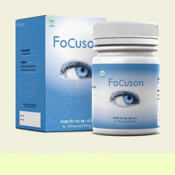 FoCuson Obat Mata — Gambaran Umum, Kelebihan dan Kekurangan, Harga